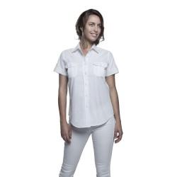 Chemise femme manches courtes