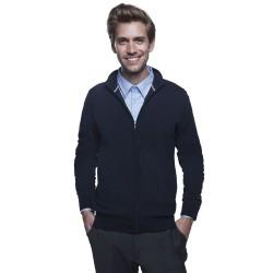 Gilet homme zippé tricoté...