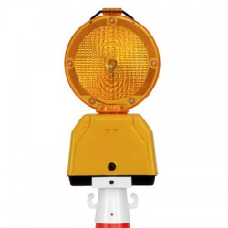 Lampe clignotante + fixation