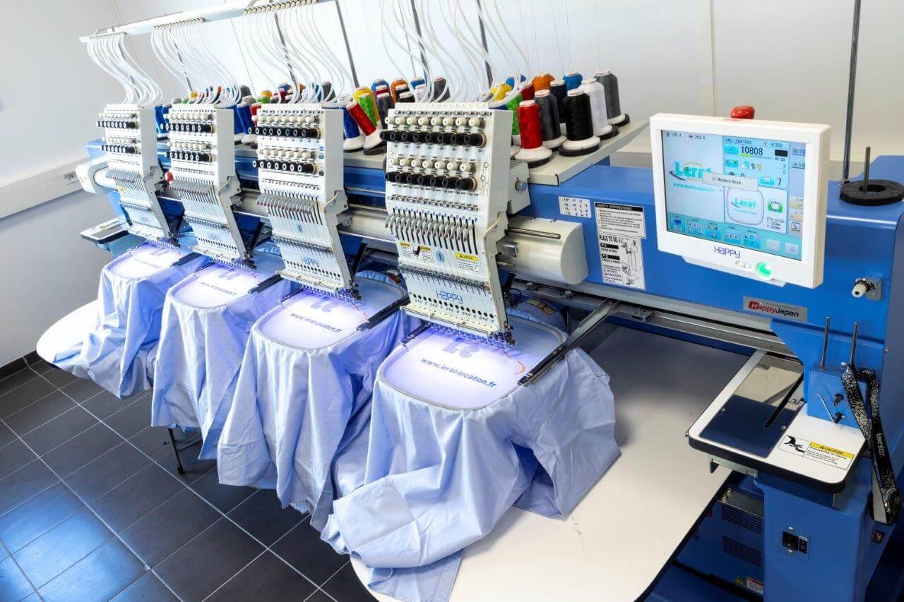 Broderie pour customisation de vêtements pro